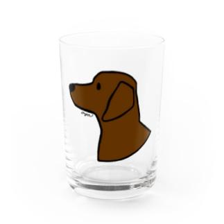 ダックスフンド Water Glass