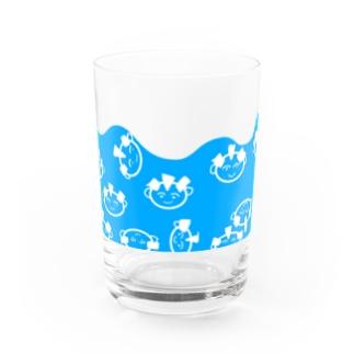 全ヅラ連の全ヅラ連 ただただ漂う子たち Water Glass