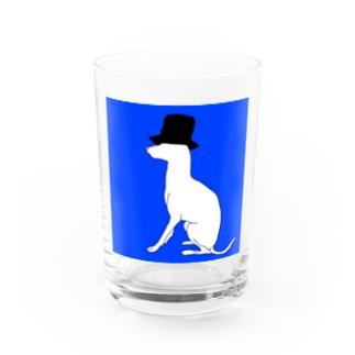 帽グレ Water Glass