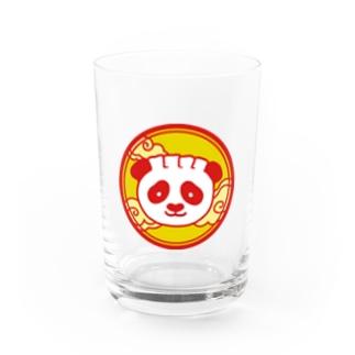 餃子熊猫 円 Water Glass