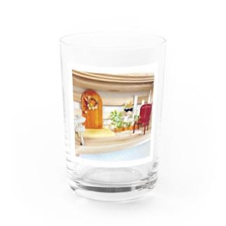 *.゚ 木漏れ日 の グラス *.゚  Water Glass
