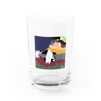 川原の人 Water Glass
