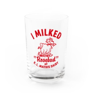 MATHIS DAIRY Water Glass