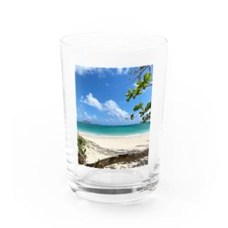 Kailua Beach Water Glass