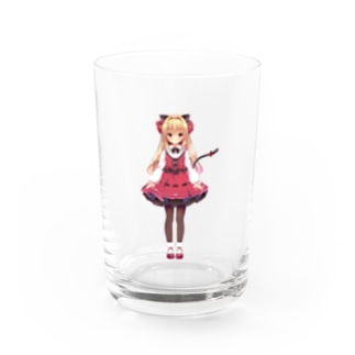 【OPEN BETA公式】華香院つばきグッズ Water Glass