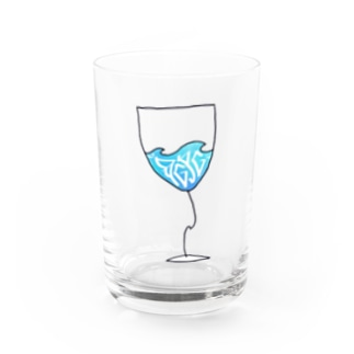 DGPGのWAVE  grass Water Glass