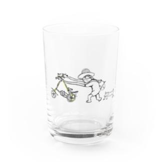 yunaちゃんと犬 Water Glass