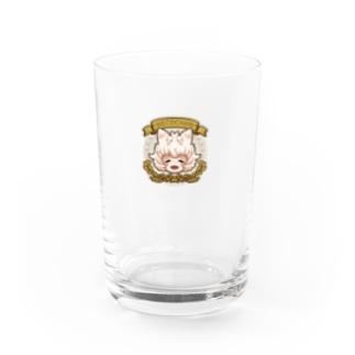 HAPPYネコチャン Water Glass