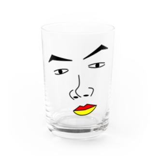 かお。 Water Glass