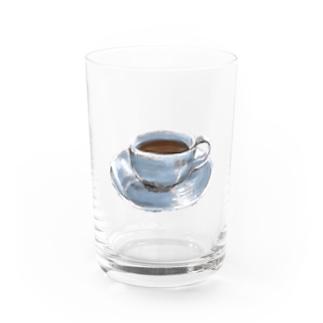 コーヒー Water Glass