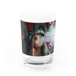 Smoke Girls 01 Water Glass