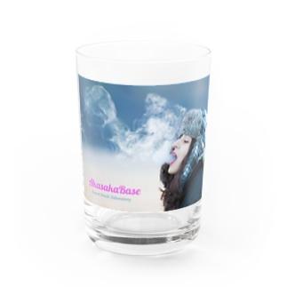 Smoke Girls 02 Water Glass