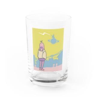 sanaのお店のプラネット* Water Glass