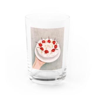make a cake Water Glass