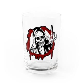 skull マリア Water Glass
