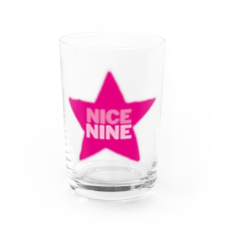 星男9周年記念 NICENINE! Water Glass