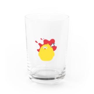 レタッピーグラス 血しぶきver Water Glass