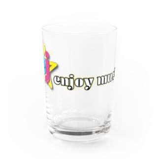 enjoy music 公式グッズ Water Glass