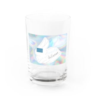 lonely winter Water Glass