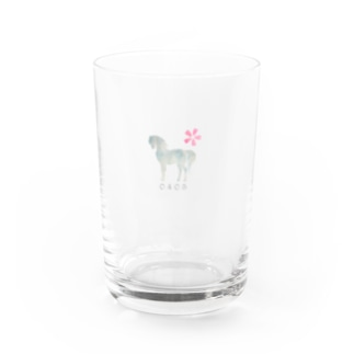 Spring Horse ミニ Water Glass