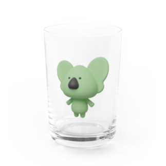 3Dコアラ Water Glass