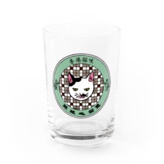 香港「地球猫印」猫店長 Water Glass
