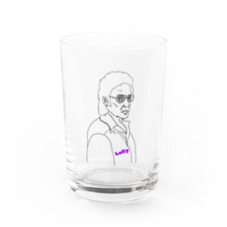 左利き Water Glass