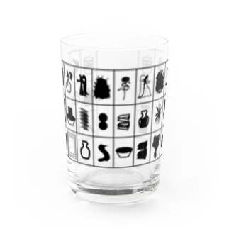 Cards Water Glass