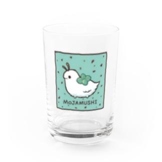 もじゃむしグラス チョコミント Water Glass