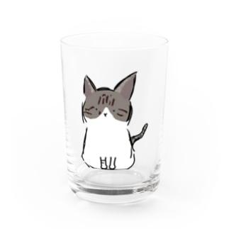 にゃにゃん Water Glass