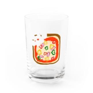 ぴざとーすと Water Glass