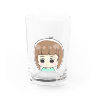 おんまゆるおんなのこ Water Glass