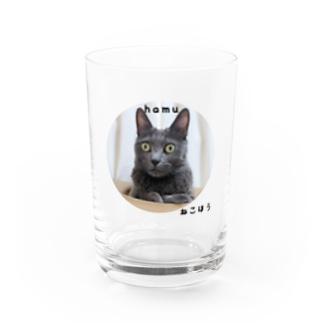 ハムちゃんグラス Water Glass