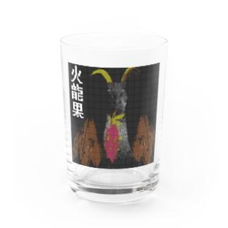 火龍果ファイヤー Water Glass
