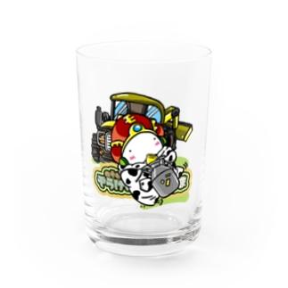 牧場のおうさま Water Glass