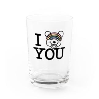 I NIJI KUMA YOU  Water Glass