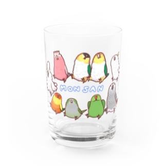 《MONSAN》おっきいこズ Water Glass