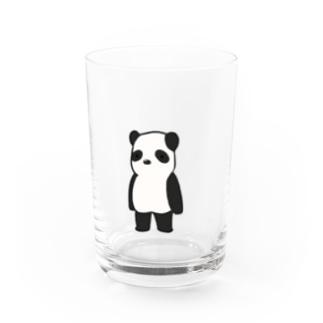直立パンダ Water Glass