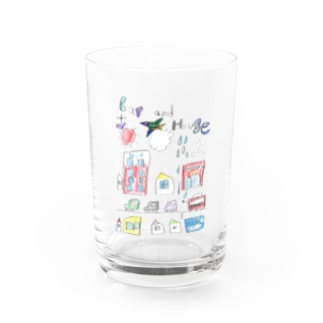 car and house Water Glass