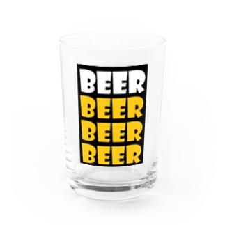 BEER Water Glass