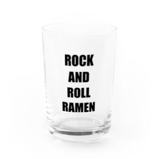 ROCK AND ROLL RAMEN Water Glass