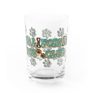 CALIFORNIA DOG CLUB Water Glass
