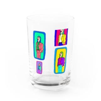 毎日 暇 Water Glass