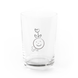 Smile Water Glass