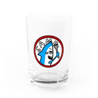 jokeboxのサメちゃん Water Glass
