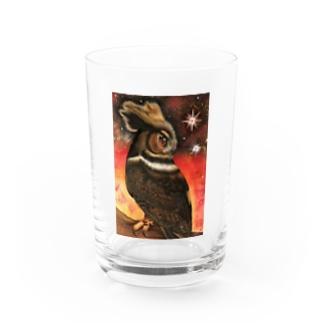 静かな炎天の決意 Water Glass