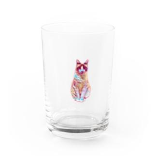 tengucat(ゆらゆら) Water Glass