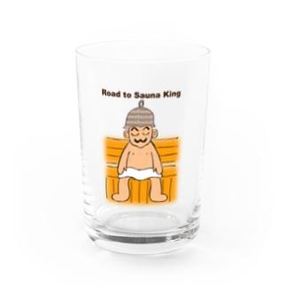 サウナ王への道 Water Glass