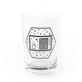 あひるちゃん×教室 Water Glass
