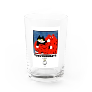 cat punch punch Water Glass